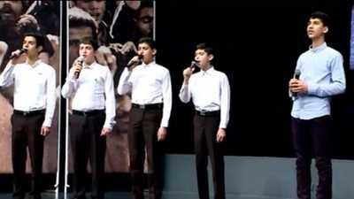 دانلود سرود سرباز حسینم از گروه سرود شهید فرجی