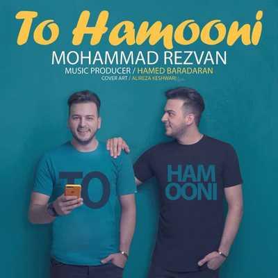 دانلود آهنگ جدید محمد رضوان بنام تو همونی