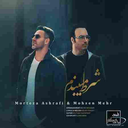 دانلود آهنگ جدید مرتضی اشرفی و محسن مهر بنام شرط میبندم